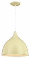 Feiss P1298LMG Dutch Modern Lemon Grass Finish 13.75  Wide Hanging Light