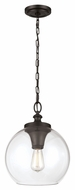 Feiss P1307ORB Tabby Retro Oil Rubbed Bronze Finish 15.875  Tall Drop Lighting