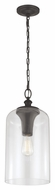 Feiss P1309ORB Hounslow Retro Oil Rubbed Bronze Finish 19.875  Tall Mini Pendant Lighting