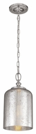 Feiss P1320PN Hounslow Retro Polished Nickel Finish 6.5  Wide Mini Hanging Pendant Light