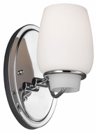 Feiss VS40001-CH Colby Chrome Finish 4.75 Wide Wall Light Sconce