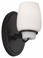Feiss VS40001-ORB Colby Oil Rubbed Bronze Finish 8.5 Tall Wall Sconce Light