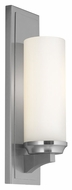 Feiss WB1723BS Amalia Brushed Steel Finish 4.5 Wide Wall Light Fixture