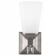 Feiss WB1724BS Sophie Brushed Steel Finish 4.625  Wide Wall Lighting Sconce