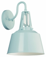 Feiss WB1726SHBL Freemont Contemporary Hi Gloss Blue Finish 9  Wide Wall Lighting Fixture