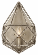 Feiss WB1734BUS Marquise Silver Finish 8.625 Wide Wall Lighting