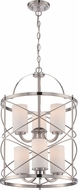 Nuvo 60-5329 Ginger Brushed Nickel Foyer Lighting