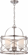 Nuvo 60-5333 Ginger Brushed Nickel Pendant Light