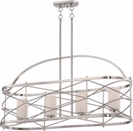 Nuvo 60-5334 Ginger Brushed Nickel Island Lighting