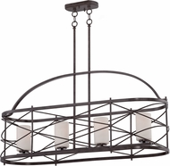 Nuvo 60-5338 Ginger Old Bronze Kitchen Island Lighting