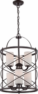 Nuvo 60-5339 Ginger Old Bronze Foyer Light Fixture