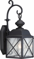 Nuvo 60-5621 Wingate Textured Black 6 Wall Sconce Lighting