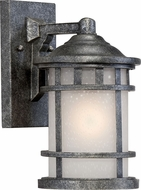 Nuvo 60-5631 Manor Aged Silver 6.5 Wall Lighting Fixture