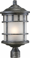 Nuvo 60-5635 Manor Aged Silver Post Lamp