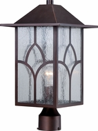Nuvo 60-5645 Stanton Claret Bronze Lamp Post Light