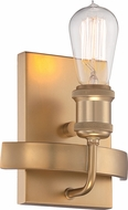 Nuvo 60-5711 Paxton Modern Natural Brass Wall Lighting