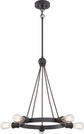 Nuvo 60-5725 Paxton Contemporary Aged Bronze Lighting Chandelier