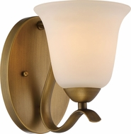 Nuvo 60-5811 Dillard Natural Brass Lighting Sconce