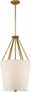 Nuvo 60-5844 Seneca Natural Brass Foyer Lighting