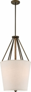 Nuvo 60-5899 Seneca Mahogany Bronze Foyer Light Fixture