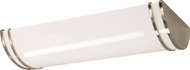 Nuvo 62-1039 Glamour Modern Brushed Nickel LED 25  Bath Light Fixture