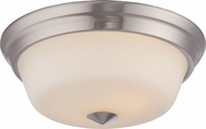 Nuvo 62-363 Calvin Brushed Nickel LED Overhead Lighting