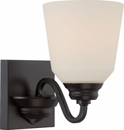 Nuvo 62-376 Calvin Mahogany Bronze LED Lighting Wall Sconce