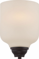 Nuvo 62-391 Kirk Mahogany Bronze LED Wall Mounted Lamp