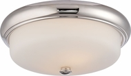 Nuvo 62-403 Dylan Polished Nickel LED Ceiling Lighting