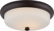 Nuvo 62-413 Dylan Mahogany Bronze LED Ceiling Light Fixture