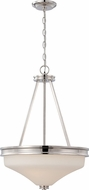 Nuvo 62-425 Cody Polished Nickel LED Pendant Light