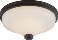 Nuvo 62-433 Cody Mahogany Bronze LED Flush Mount Lighting