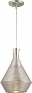 Nuvo 62-471 Jake Contemporary Satin Steel LED Mini Drop Lighting