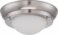 Nuvo 62-511 Poke Contemporary White LED Flush Mount Light Fixture