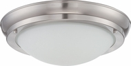 Nuvo 62-517 Poke Brushed Nickel LED Overhead Light Fixture