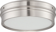 Nuvo 62-521 Ben Polished Nickel LED Ceiling Light