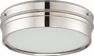 Nuvo 62-523 Ben Polished Nickel LED Ceiling Lighting Fixture