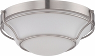 Nuvo 62-527 Baker Brushed Nickel LED Overhead Lighting