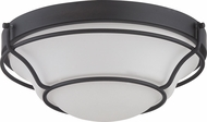 Nuvo 62-528 Baker Aged Bronze LED Flush Mount Light Fixture