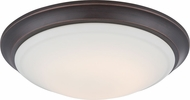 Nuvo 62-604 Carter Mahogany Bronze LED Ceiling Light