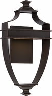 Nuvo 62-621 Cooper Modern Mahogany Bronze LED Wall Sconce Lighting