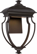Nuvo 62-623 Taft Modern Mahogany Bronze LED Wall Light Sconce