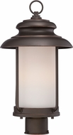 Nuvo 62-634 Bethany Mahogany Bronze LED Post Light