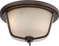 Nuvo 62-683 Tolland Mahogany Bronze LED Flush Mount Light Fixture