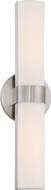 Nuvo 62-732 Bond Modern Brushed Nickel LED 17.5  Lighting For Bathroom