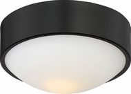 Nuvo 62-773 Perk Aged Bronze LED 9  Flush Mount Ceiling Light Fixture
