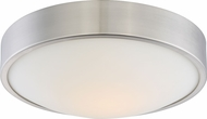 Nuvo 62-775 Perk Brushed Nickel LED 13  Overhead Light Fixture
