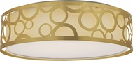 Nuvo 62-986 Filigree Natural Brass LED Home Ceiling Lighting