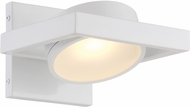 Nuvo 62-992 Hawk Modern White LED Light Sconce