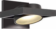 Nuvo 62-993 Hawk Contemporary Textured Black LED Lighting Sconce